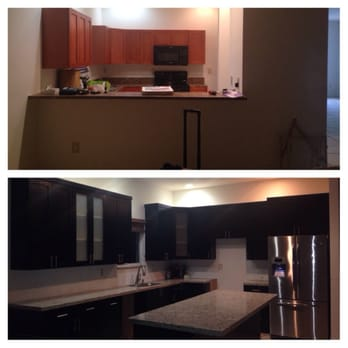 Jvm kitchen cabinet granite 25 photos contractors for Kitchen cabinets hialeah