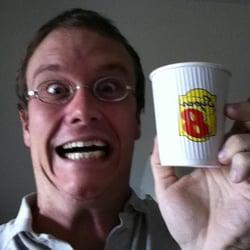 Super 8 Grand Rapids - Grand Rapids, MN, États-Unis. My mug and a cup!