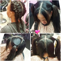 Hair studio queens ny united states vixen sew in by laaserina