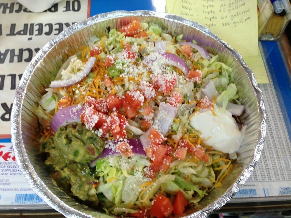 Achiote Grill - Huntington Beach, CA, United States. Fiesta salad