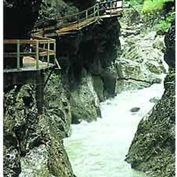 Staufenseeweg - Rappenlochschlucht, Dornbirn, Vorarlberg, Austria