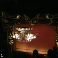 The famous Phantom chandelier