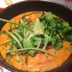 Green curry ramen