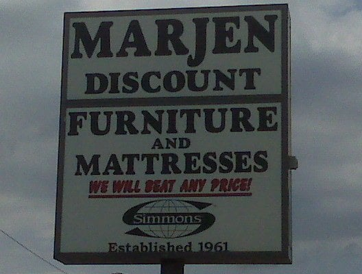 Marjen discount furniture bedding niles il yelp for Affordable furniture florida