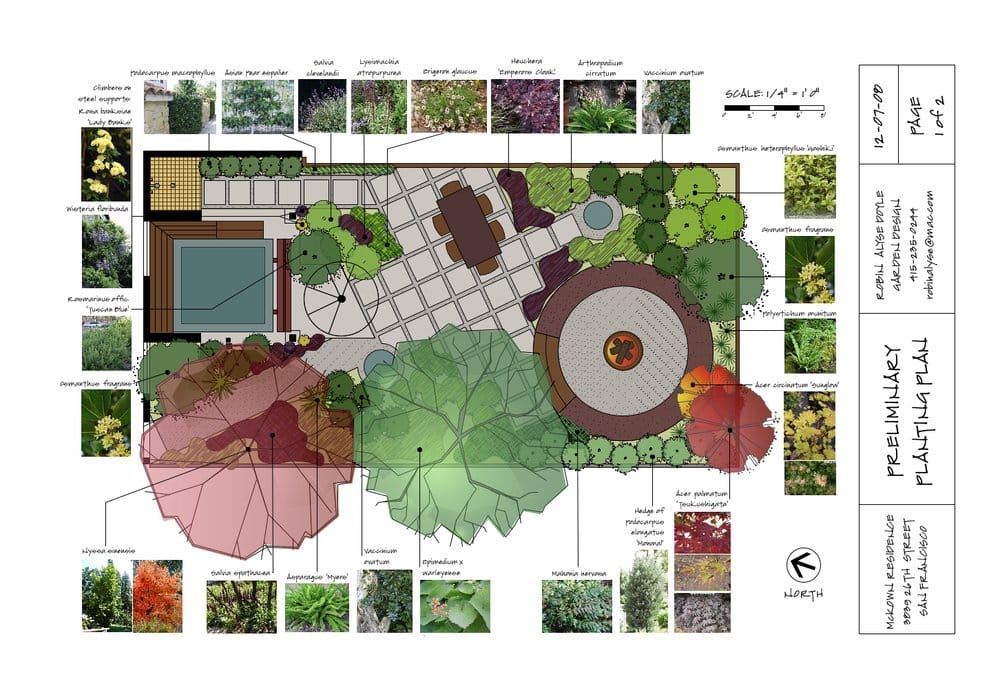 Pics for landscape plans cad for Landscape plan drawing
