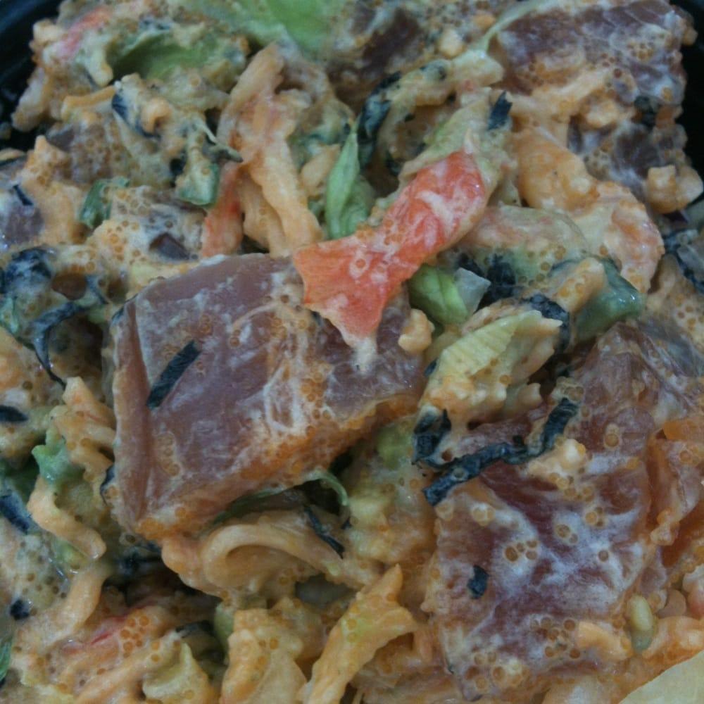 Cali ahi poke bowl yelp for Suisan fish market