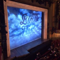 Big fish on broadway performing arts theater district for Big fish broadway