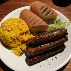 Zulu Boerewors w/ Spicy Rice (lunch)