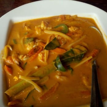 Cafe Equator - Authentic Shrimp Red Curry - Metairie, LA, United ...