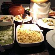 brunch buffet (cold items)