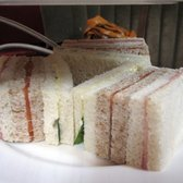3rd Tier - Tea Sandwiches