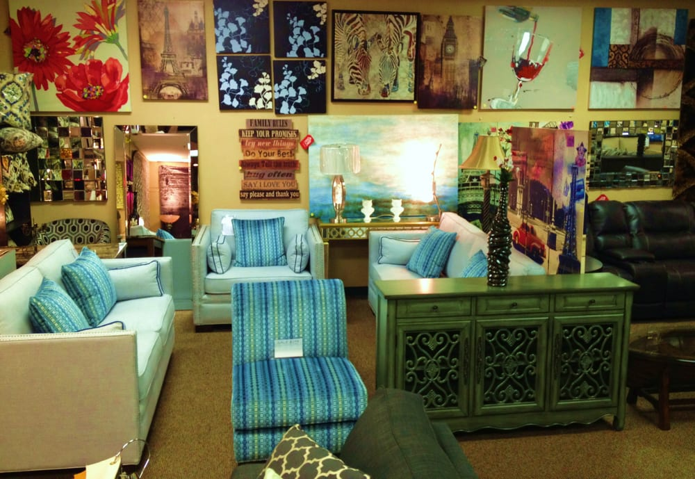 we offer a large selection of home furnishings