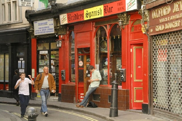 Bradley's Spanish Bar London's Best Dive Bars