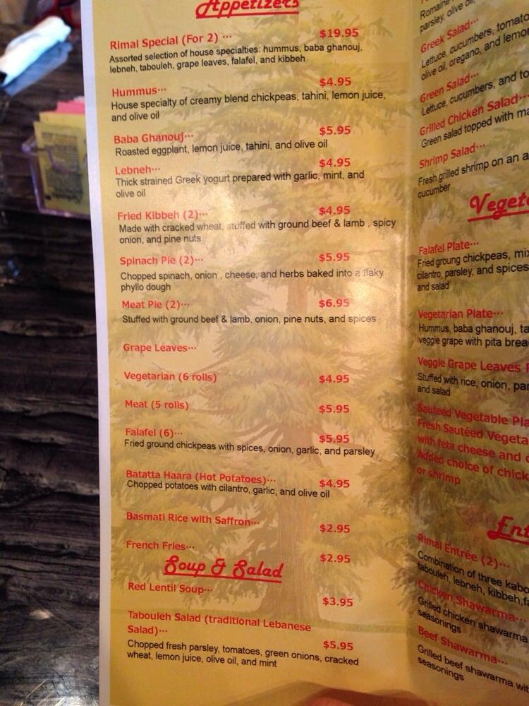 Mandeville (LA) United States  city photo : ... Lebanese Restaurant & Grill Mandeville, LA, United States. Menu 2