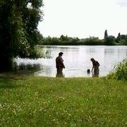 baden im Sommer