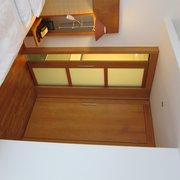 Eingang zum Bad in Suite ohne Balkon