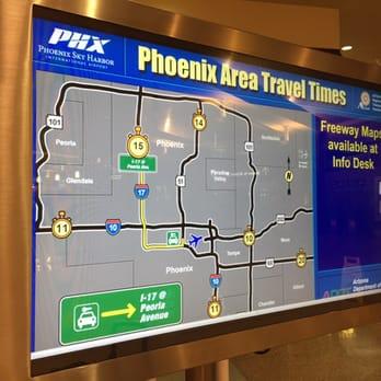 Car Rental Return At The Phoenix Airport
