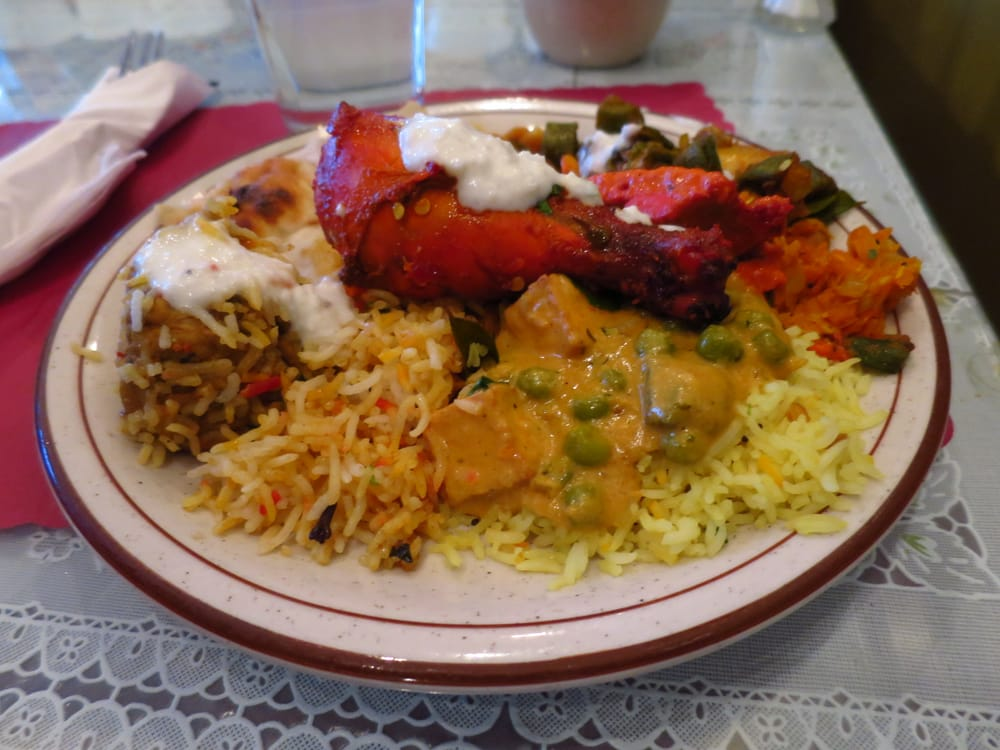 Assorted dishes from lunch buffet yelp for Athidhi indian cuisine sterling heights