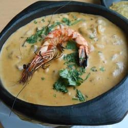 Cazuela de Mariscos or fish stew to me…