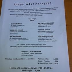 Burger Karte