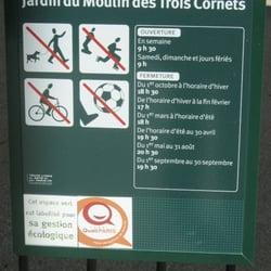 Jardin du moulin des 3 cornets, Paris
