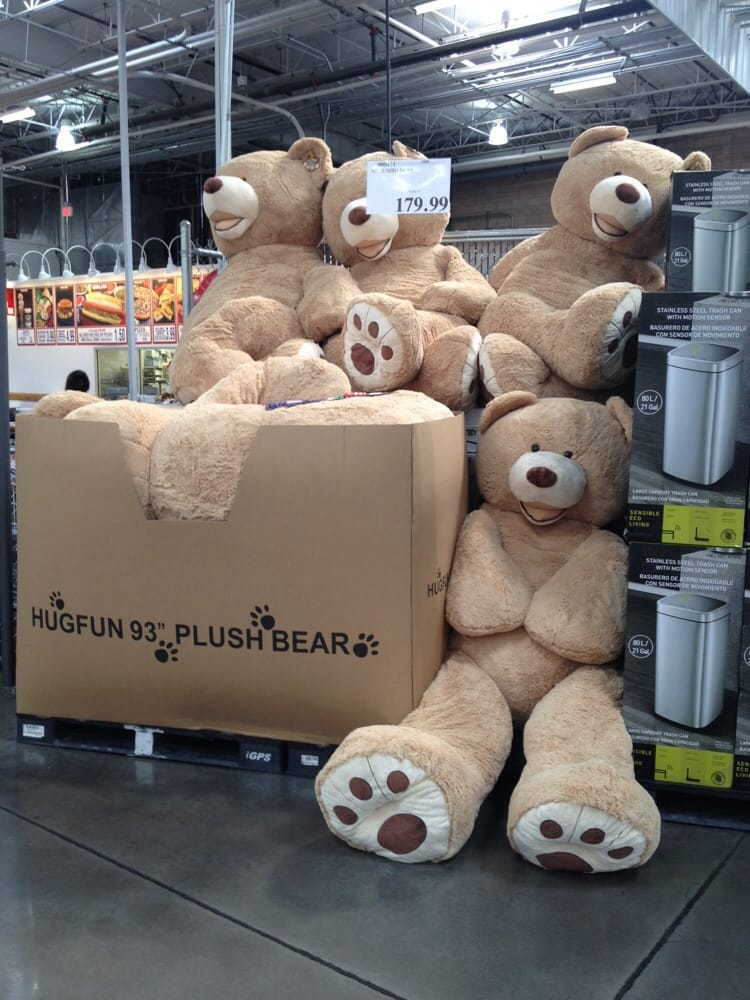93 Quot Jumbo Teddy Bears Who Needs A Body Pillow If You Have