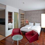 Doppelzimmer mit Kochnische Hotel…