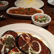 2 borani badenjan gluten free menu ariana authentic for Ariana afghan cuisine menu