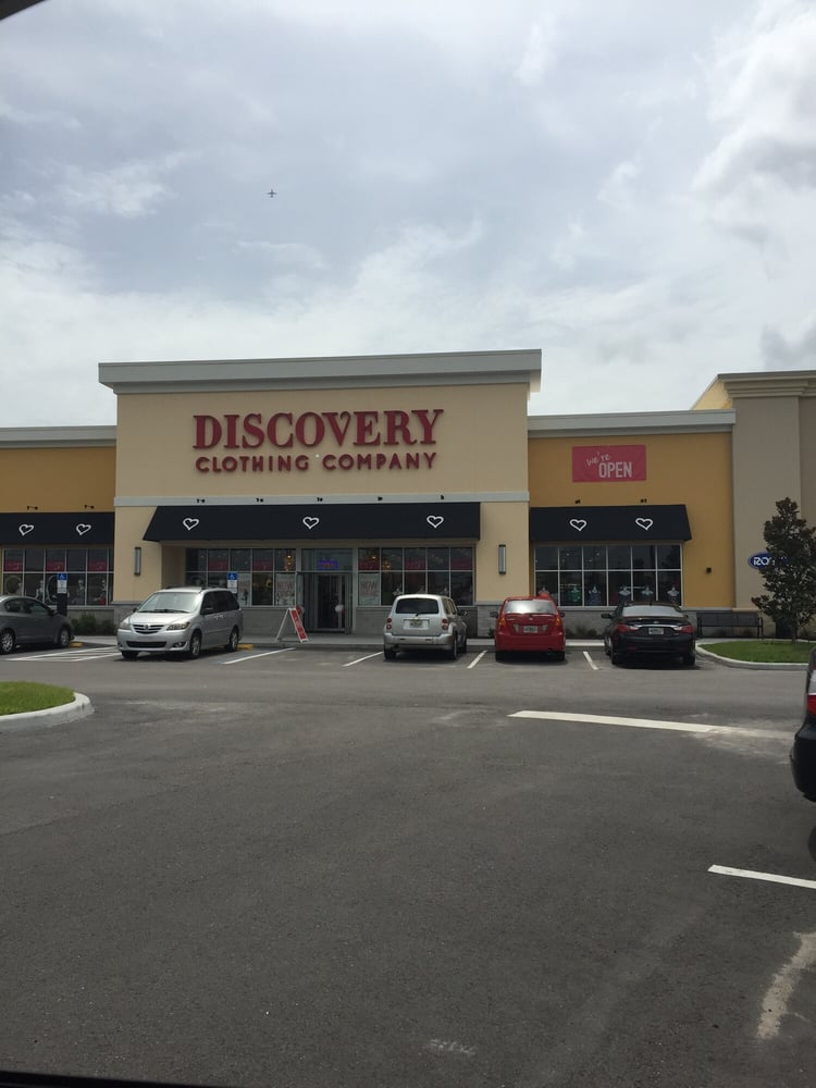 Discovery store clothing