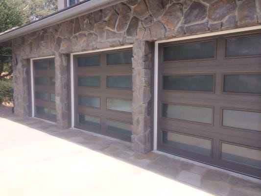 Insulated doors with insulated obscure glass yelp for 12x12 overhead door