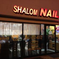 Shalom nail salon buffalo grove il yelp for A q nail salon collinsville il