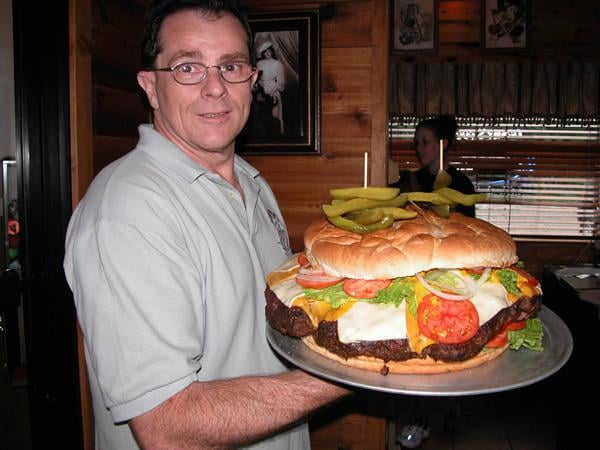 Clearfield (PA) United States  city photos : ... Beer Barrel Pub Clearfield, PA, United States. worlds biggest burger