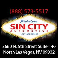 Sin City Auto North Las Vegas Nv Verenigde Staten Yelp