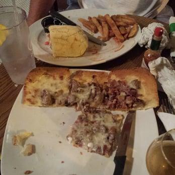 ... - Saint Louis, MO, United States. Guinness marinated steak flatbread