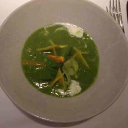 Gardon pea soup. Very delicious!