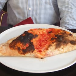 A Calzone wider than a human being