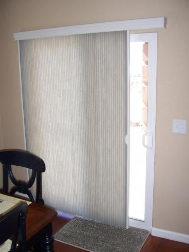 Slide Vue Cellular Shades For That Hard To Cover Patio