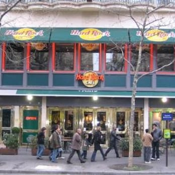 Carte Hard Rock Caf Ef Bf Bd Paris