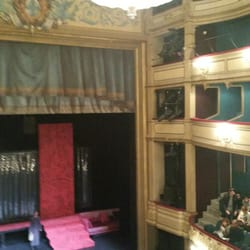 Théâtre du Gymnase - Marseille, France. Scene