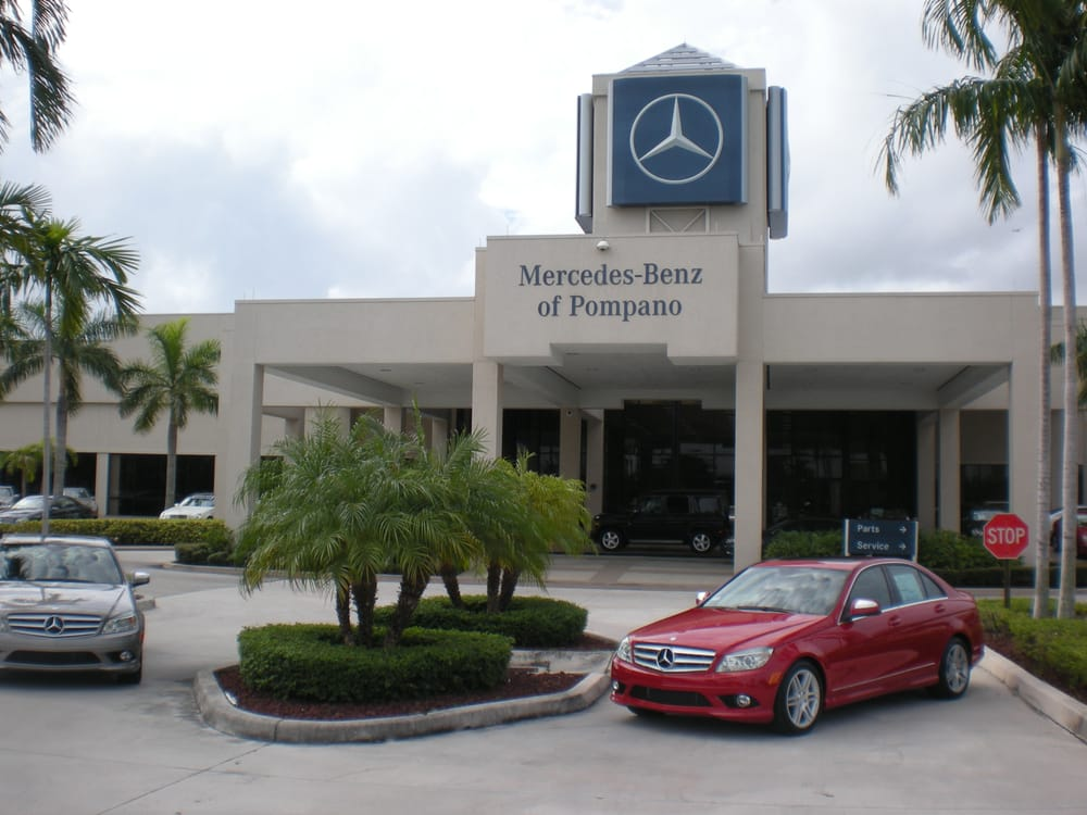 Mercedes benz of pompano 15 photos car dealers 350 for Mercedes benz dealers in florida