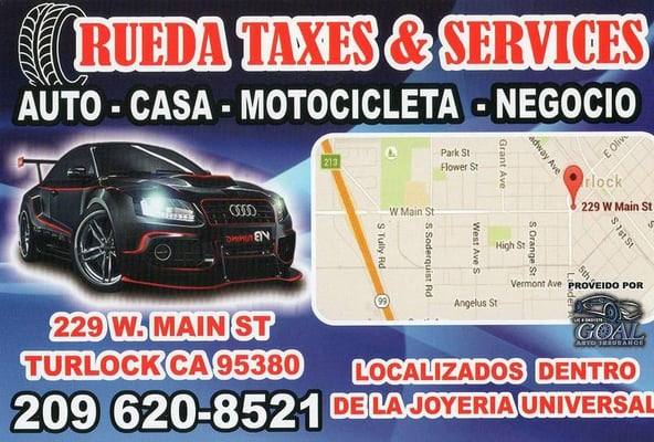 Turlock (CA) United States  city images : Rueda Taxes and Services Turlock, CA, United States. Add a caption