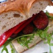 Chorizo Zameramo & Piquillo Sandwich.