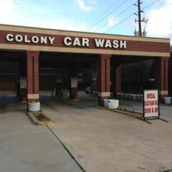 Colony Car Wash Sugar Land Tx