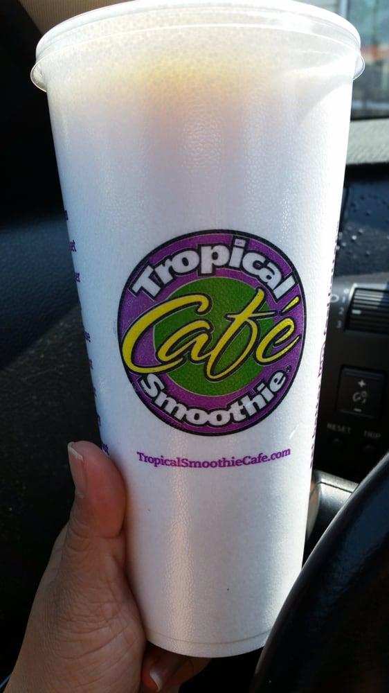 Tropical Smoothie Cafe Huntley Menu