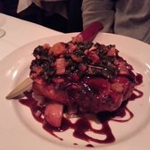 Brighton Bar and Grill - Grilled Cherry BBQ Pork Porterhouse - Center ...