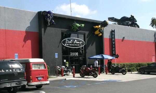 del amo motorsports motorcycle dealers redondo beach