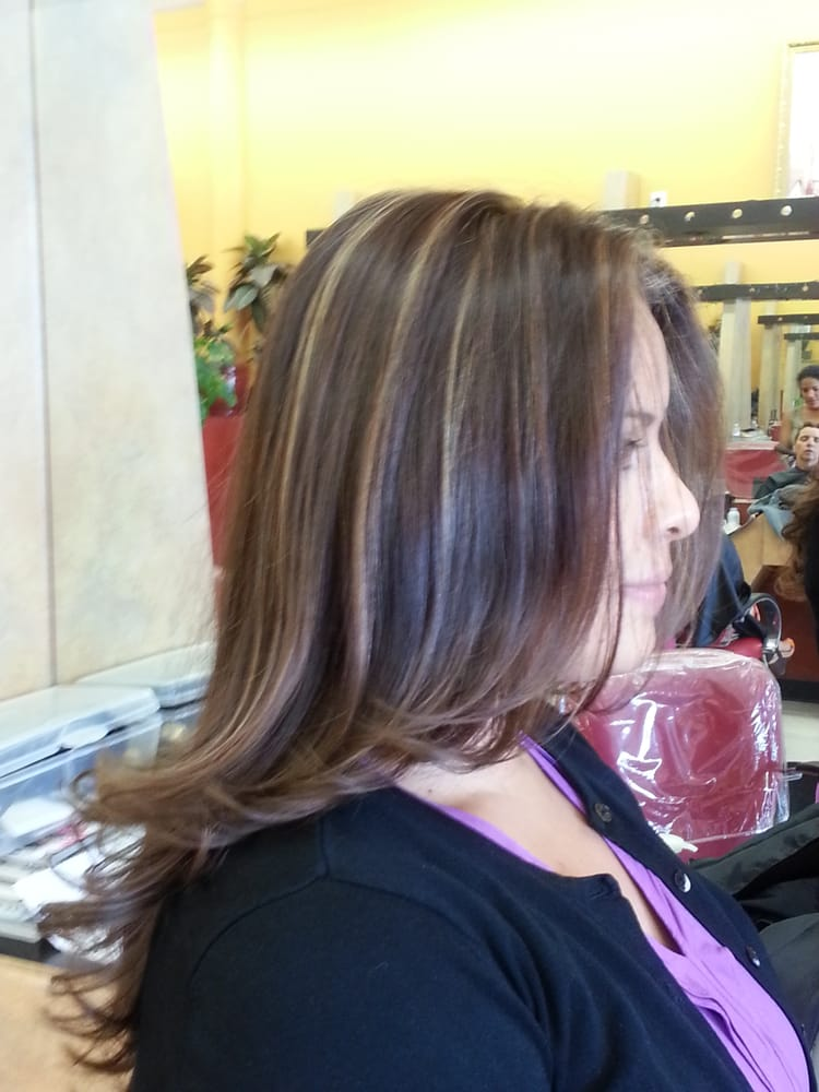 The latin touch beauty salon hair salons northridge for A touch of beauty salon