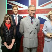 Madame Tussaud's - my royal family - London, United Kingdom