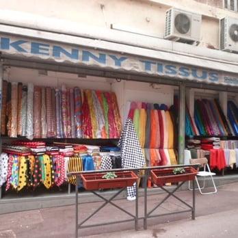 Kenny tissus mercerie et mat riel de couture noailles for Tissus ameublement marseille