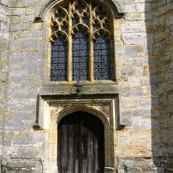 West door and window.